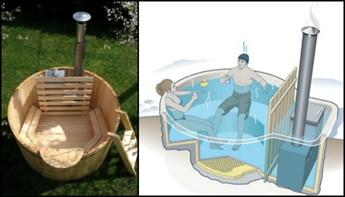 33 Inexpensive Diy Wood Burning Hot Tub And Sauna Design