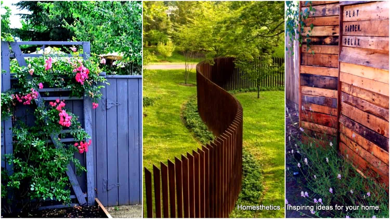 Backyard Fence 37 Awesome Pallet Fence Ideas To Realize Swiftly In Your Backyard