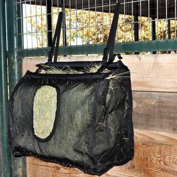 Cashel Hay Bag Mesh Large Black Horseloverz