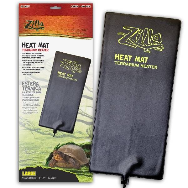 Zilla Heat Mat Terrarium Heater Horseloverz
