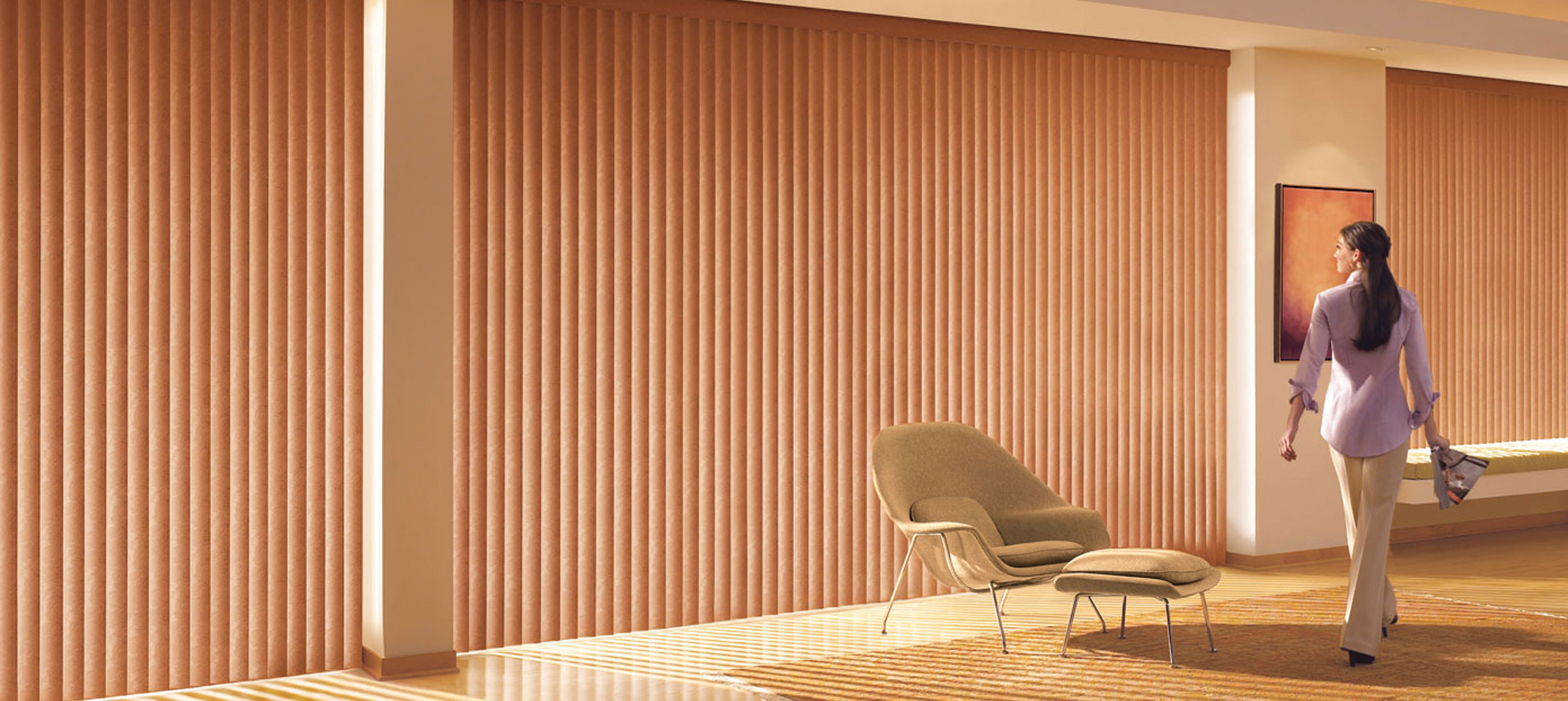 Timber Vertical Blinds Vertical Blinds Window Panels Wood Vinyl Hunter Douglas
