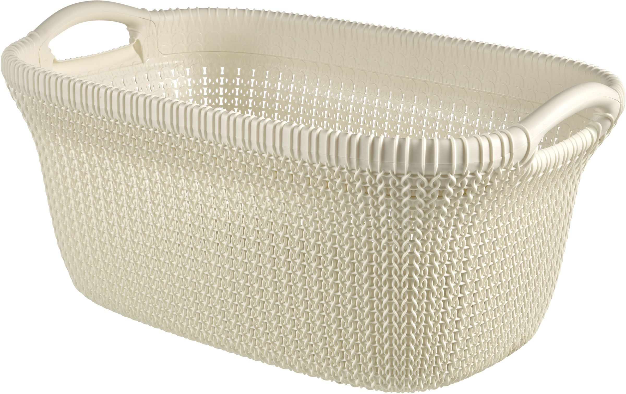 Smalle Hoge Wasmand Curver Knit Wasmand
