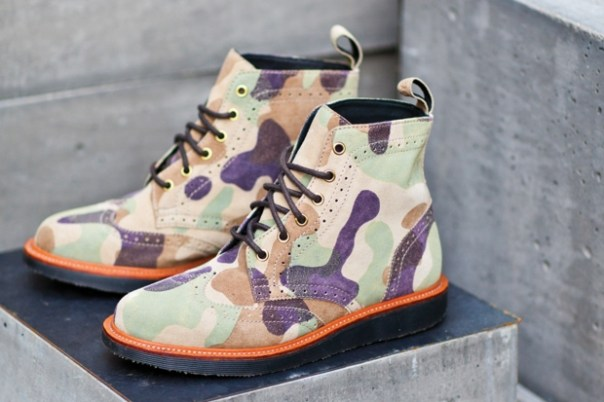 """Ronnie Fieg for Dr. Martens """"The Bowery"""" Boot"""