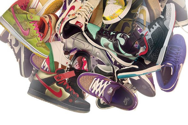 10 Years of Nike SB at the Nike SB Shoe Museum