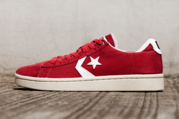 CLOT x Converse First String Pro Leather Low-cut Sneakers