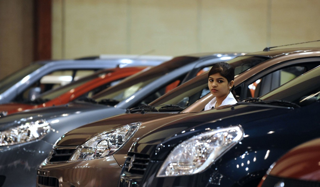 India's Finance Minister Nirmala Sitharaman has been mocked for blaming poor car sales on millennials using Uber rather than buying their own vehicles. Photo: AFP