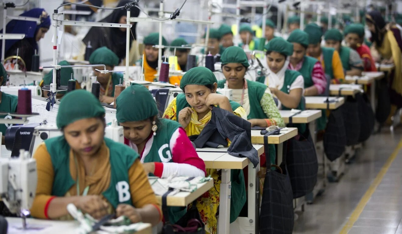 Workers in Bangladesh's garment factories could be some of the hardest hit by the pandemic's economic effects. Photo: AP