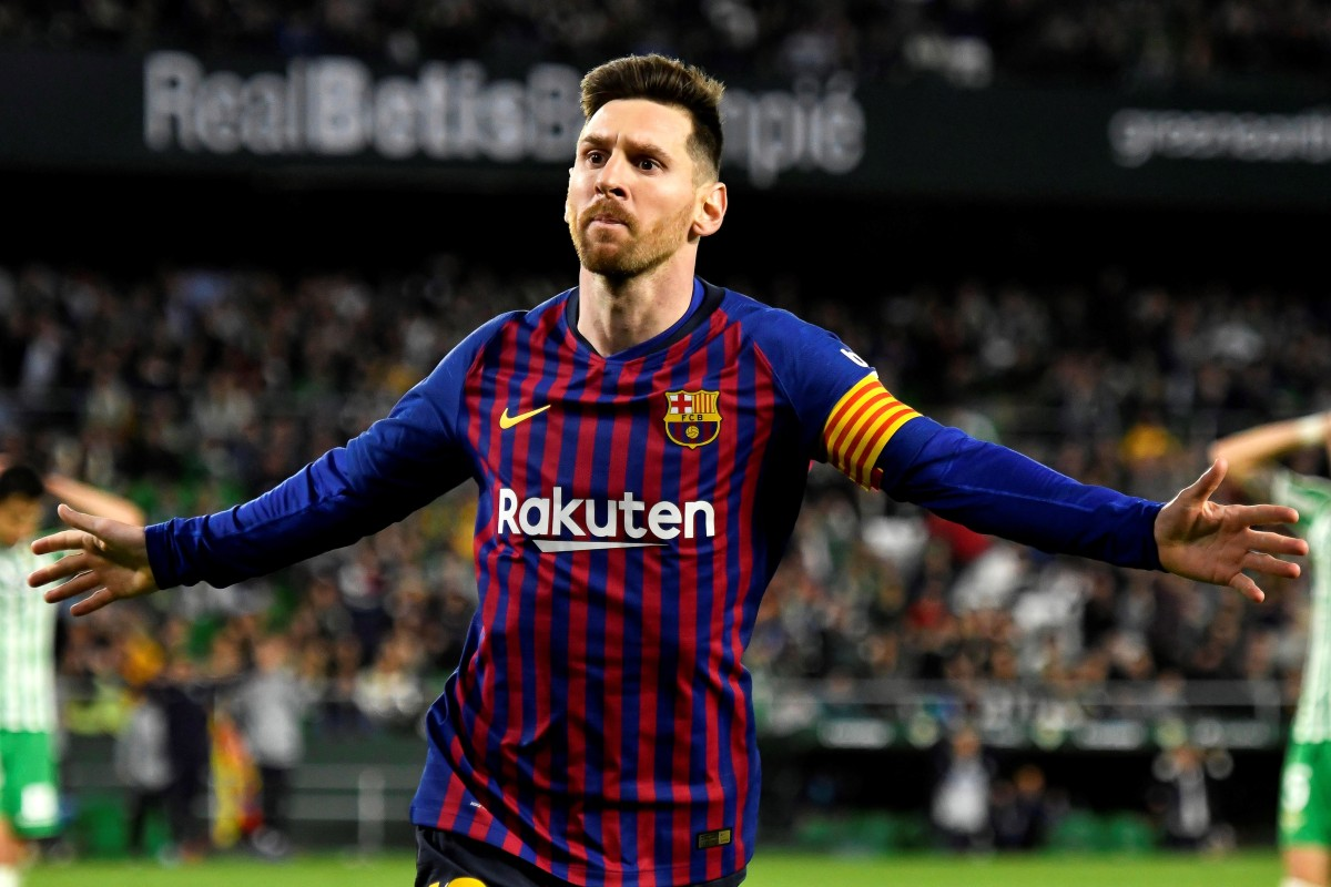 Leo Messi Betis Fans Bow To Extraordinary Lionel Messi After Sublime Hat