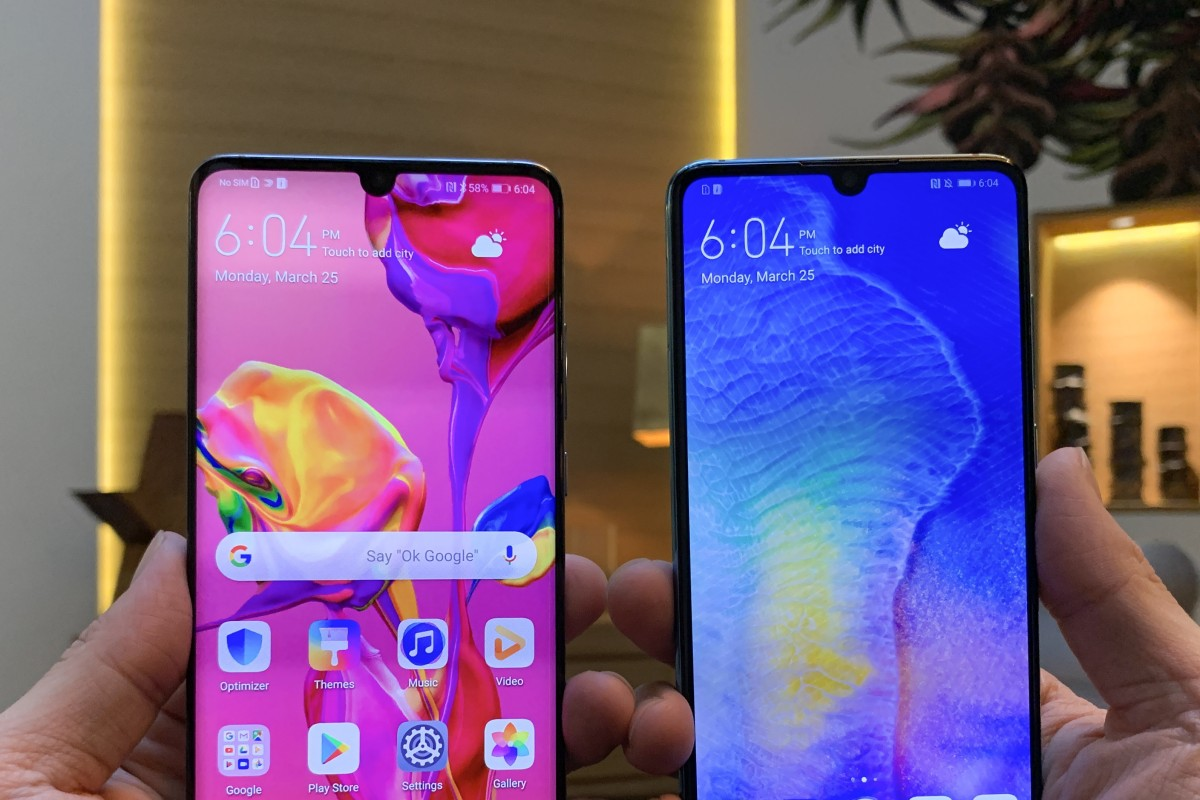 Huawei Smartphone Huawei P30 Pro P30 First Look Handsets Raise Bar For Smartphone