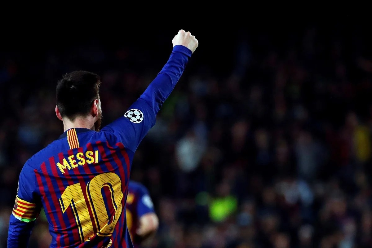 Leo Messi Twitter Reacts To Messi S Champions League Masterclass And 600th