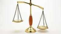 Justice, spravedlnost, právo, soud, váhy, ilustrační foto