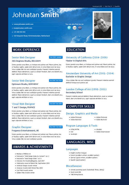 Good Free Online Resume Builder What Is A Good Free Resume Builder Quora 40 Great Html Cv Resume Templates Template Idesignow