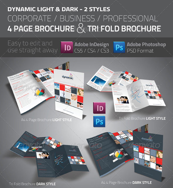 50 Business Brochure Templates Template iDesignow - psd brochure design inspiration