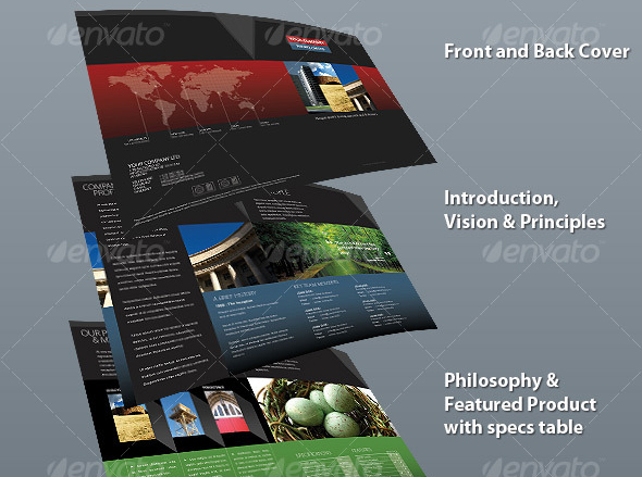 120 Free Word Flyer Templates DOCDOCX Format Ginva Brochure - free company profiles template