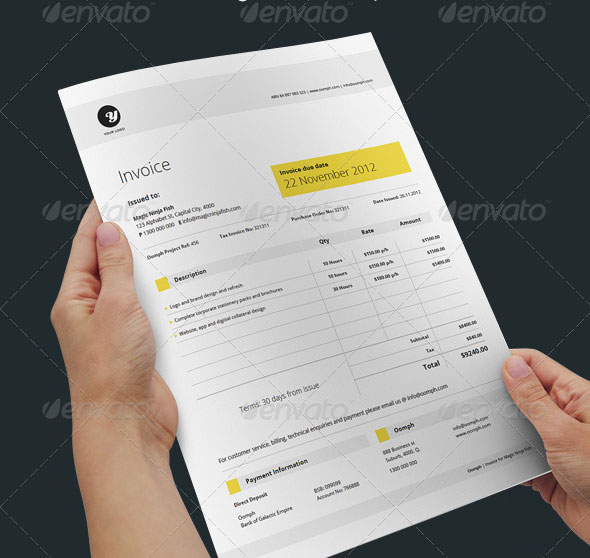 Best Invoice  Proposal Templates InDesign iDesignow - best proposal templates
