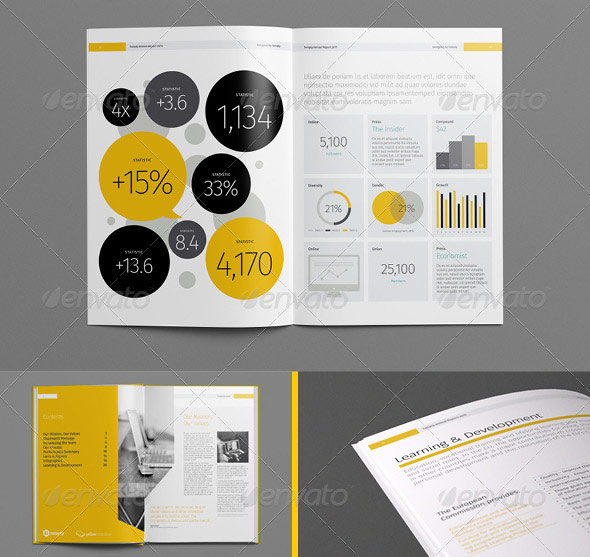 20 Best InDesign Annual Report Templates print iDesignow - annual report template