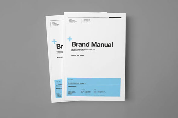 √ 30 Painstaking Brand Manual Design Templates InDesign