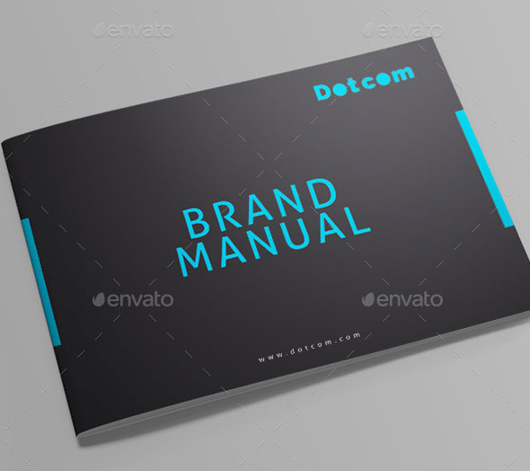 30 Painstaking Brand Manual Design Templates \u2013 InDesign InDesign