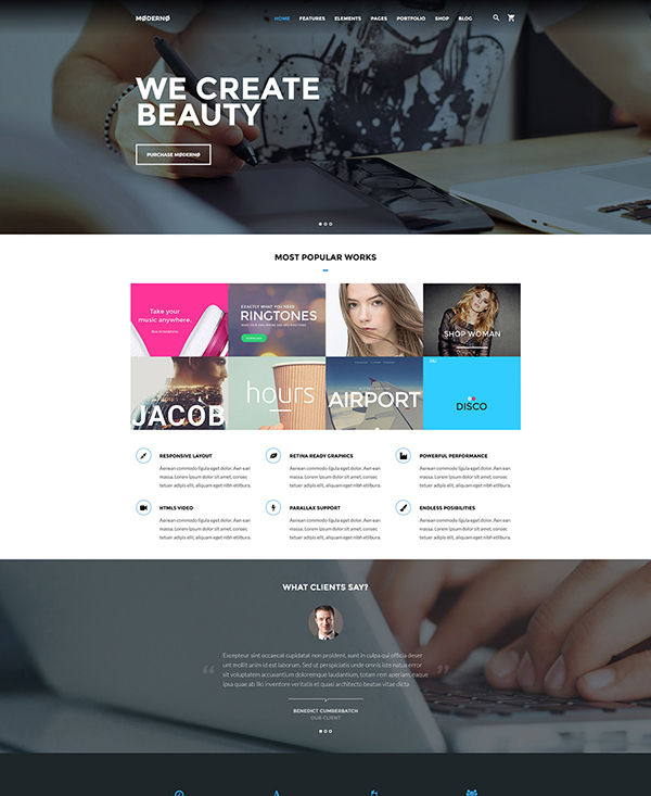 50 Free  Premium HTML5 Templates for Any Taste and Budget - iDevie