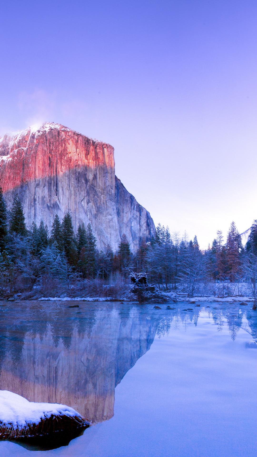Iphone 5 Wallpaper Floral Yosemite Lake Iphone Wallpaper Idrop News