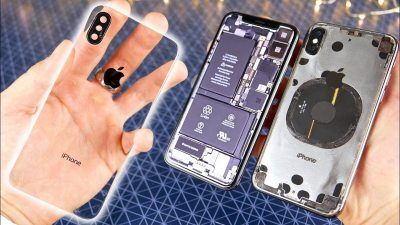 This Insanely Difficult Mod Makes the iPhone X Transparent