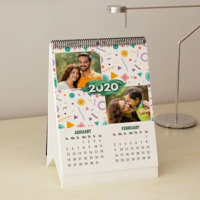Personalized Calendars 2019 - Send Wall And Desk Calendar to India