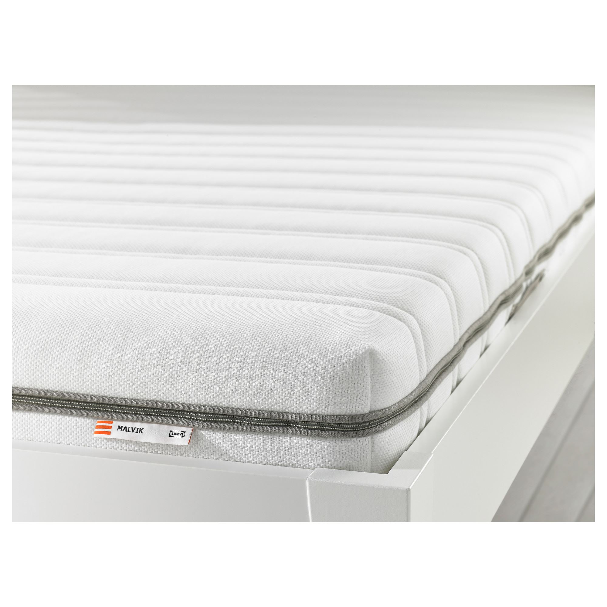 Double Bed Mattress Cover Malvik Double Bed Mattress White Firm 140x200 Cm Ikea Bedroom