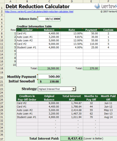excel mortgage payment calculator by post date