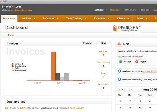 Invoicera Free Online Billing System - free online invoice system