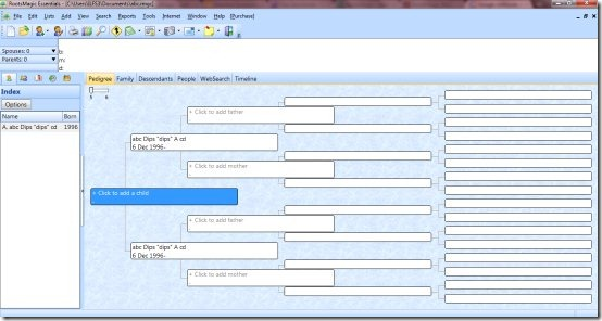 Family Tree Maker Software RootsMagic Essentials - free family tree maker with pictures