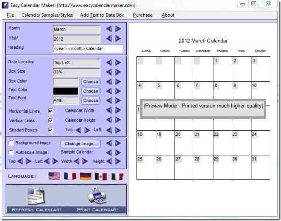 calendar creator free - Jolivibramusic - school calendar creator
