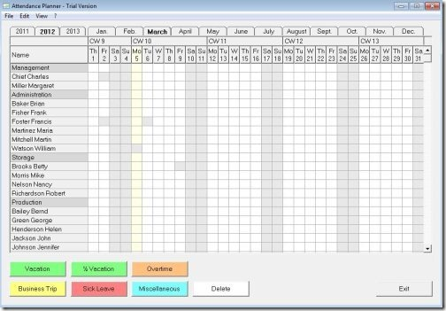 download attendance sheet template excel spreadsheet templates free