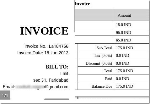 Invoice App for Android to Create Invoice AndInvoice