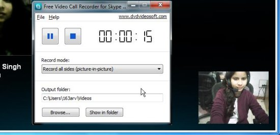 Free Skype Video Call Recorder to Record Both Parties in Video Chat