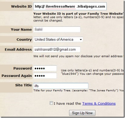 Build Own Family History Website with Free Online Family Tree Maker - build family tree online