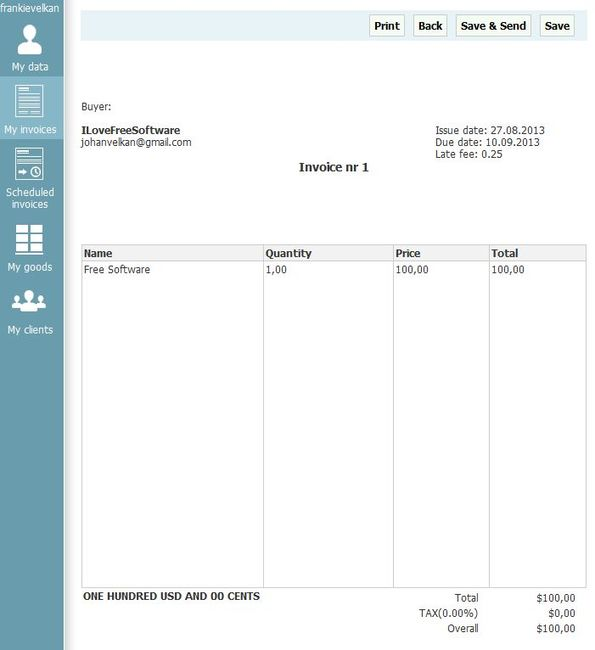 Create, Manage Invoices with Free Online Invoicing Software Inv24 - create invoices online