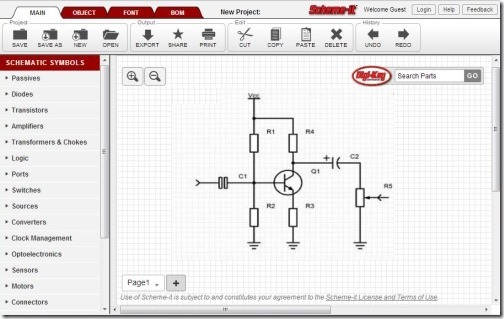 Circuit Maker Online Free car block wiring diagram