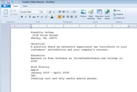 free online resume builder wizard - Free Online Resume Wizard