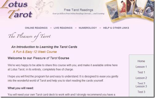 universal lotus tarot 6 card spread reading