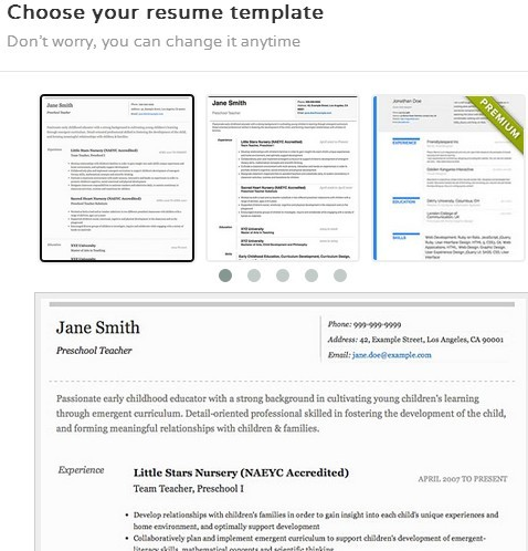 5 Resume Creator Extensions For Google Chrome - resume creator