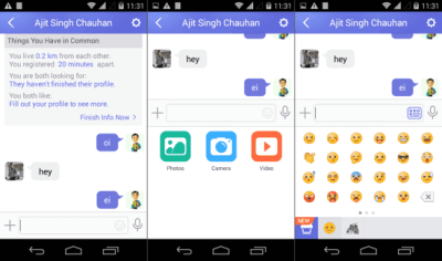 Find and Chat with People Near You with Link for Android