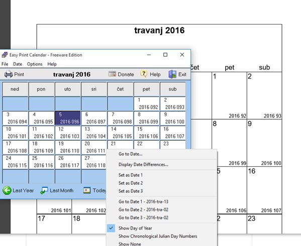 Calendar Creator Software For Windows 10 School Calendar Year 2015