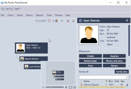 3 Free Windows 10 Family Tree Maker Apps - free family tree maker with pictures