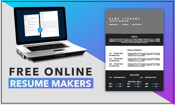 5 Online Resume Maker Free Websites