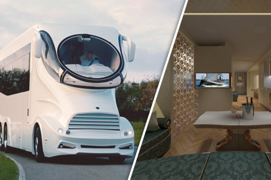 World's Best Sofas The Ultimate Caravan: Inside Best Rv That You Can Buy