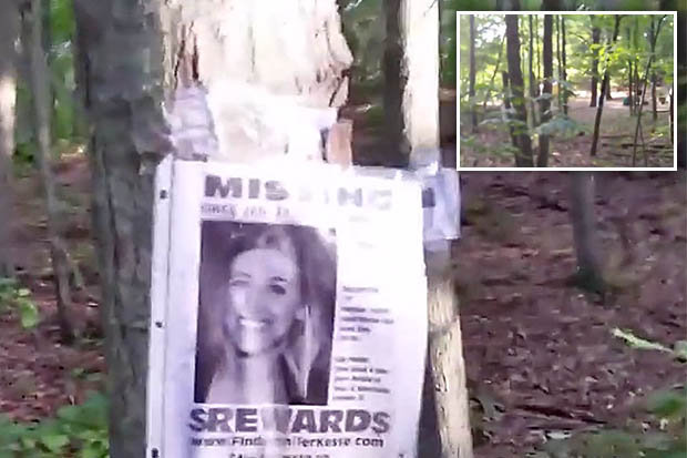 Bloke finds chilling gallery of \u0027missing person\u0027 posters in the - missing person posters