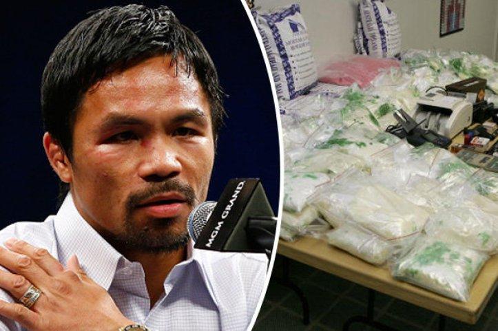 Manny Pacquiao drug claim