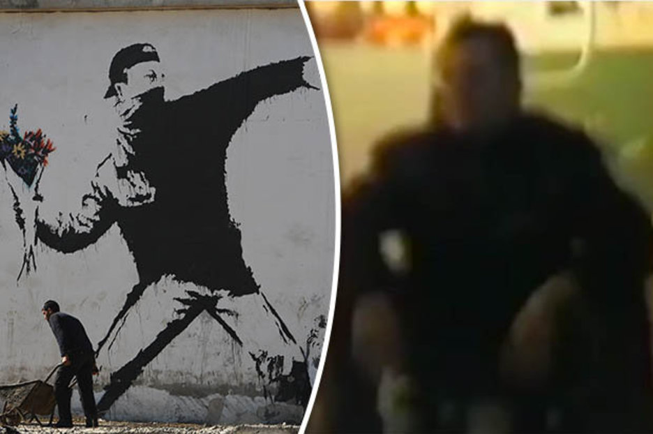F1 News Bbc Banksy Unmasked: Elusive Graffiti Artist Speaks In Rare