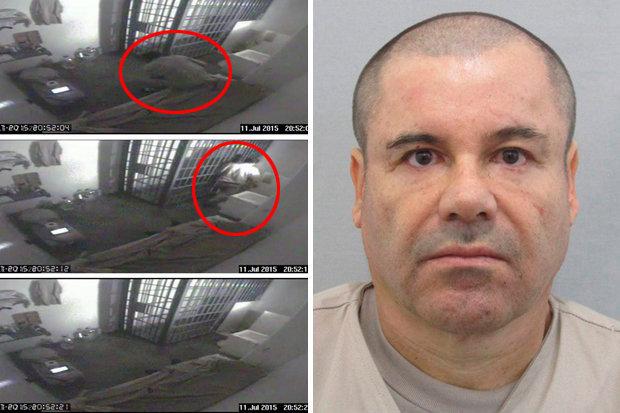 el chapo prison break