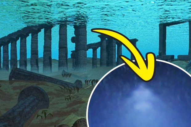 Atlantis lost city FOUND? \u00278 mile pyramid\u0027 found near Mexico in